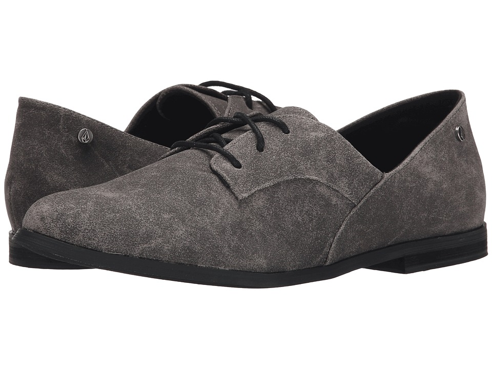 Volcom - Moody (Grey) Women's Lace up casual Shoes