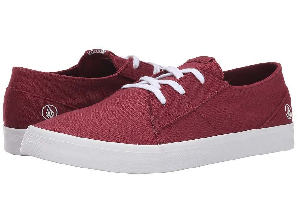 Volcom - Lo Fi (Burgundy) Women's Lace up casual Shoes