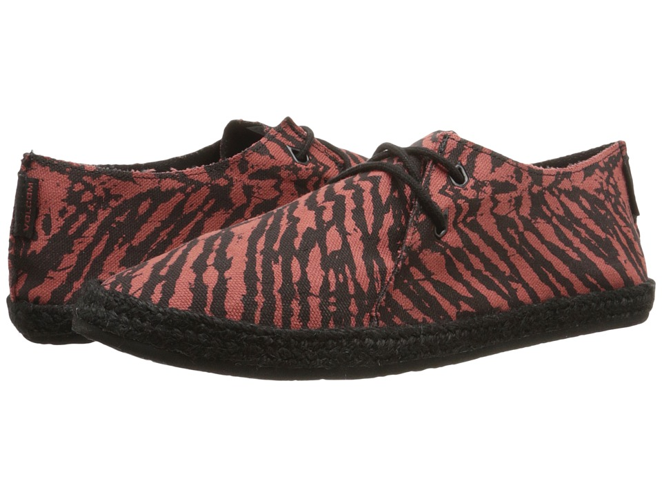 Volcom - Uptown (Burgundy) Women's Lace up casual Shoes