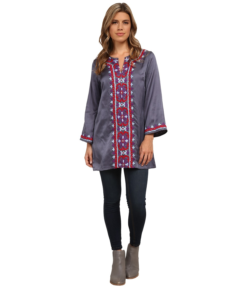 KAS New York - Muireann Tunic (Dark Grey) Women's Dress