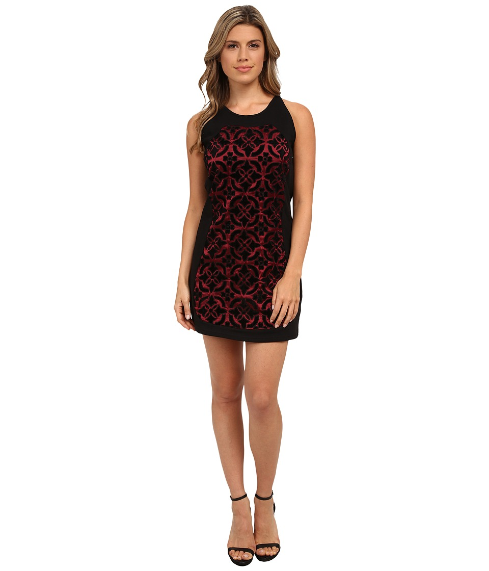 KAS New York Caimhe Dress (Black/Red) Women