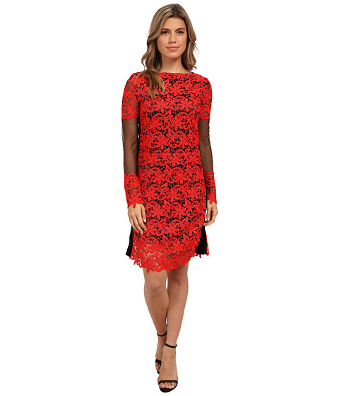 KAS New York - Sillah Dress (Red/Black) Women