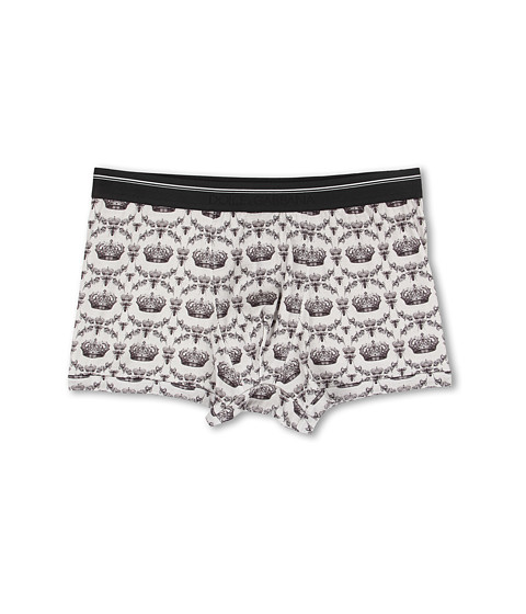 Dolce & Gabbana - Bees and Crowns Regualar Boxer (Grey) Men