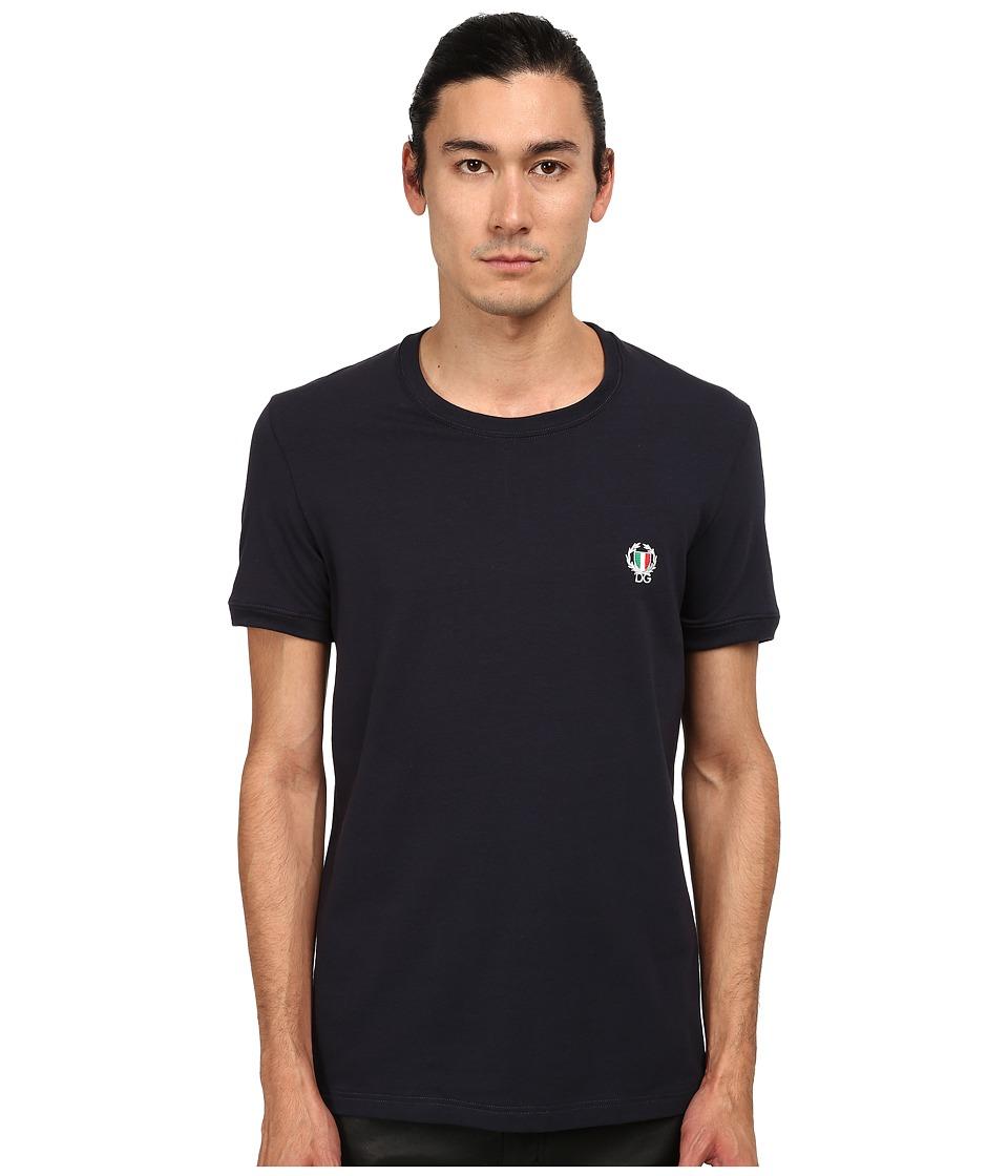 Dolce & Gabbana - Sport Crest T-Shirt (Blue) Men's T Shirt