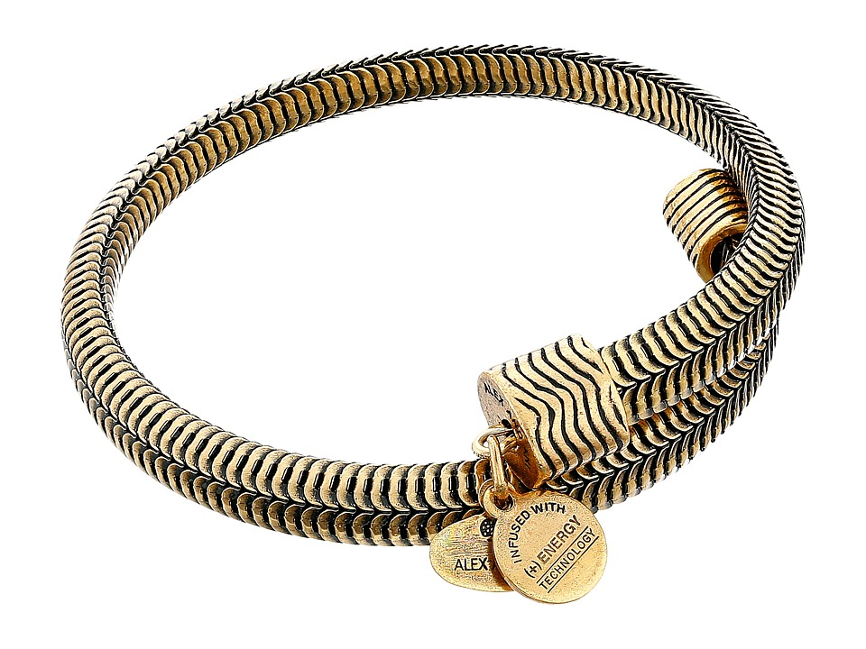 Alex and Ani - Drift Wrap Bracelet (Rafaelian Gold Finish) Bracelet