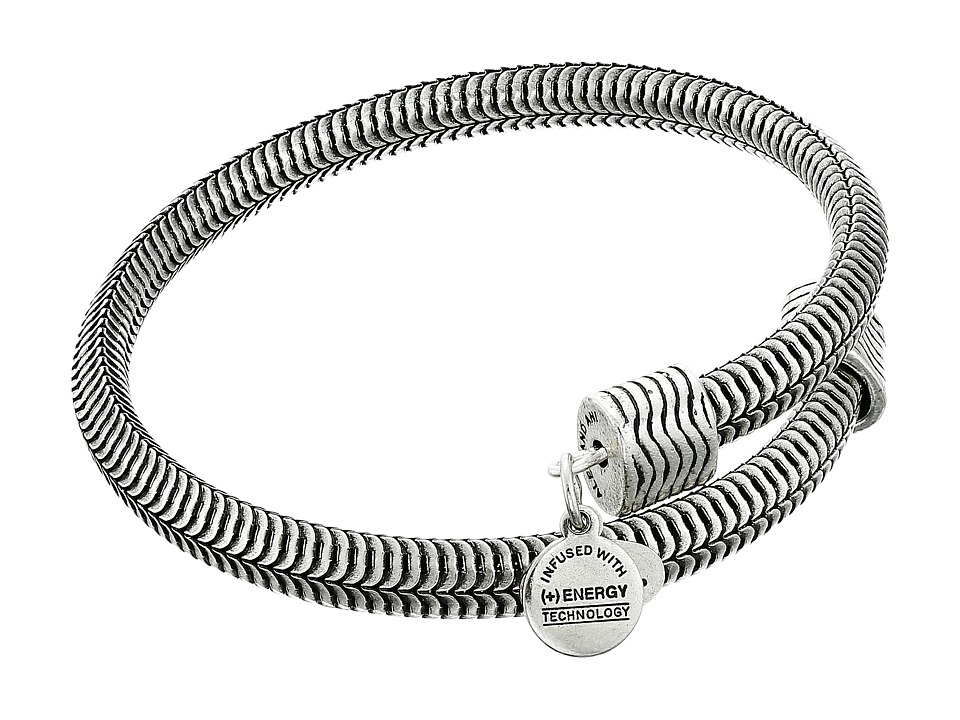Alex and Ani - Drift Wrap Bracelet (Rafaelian Silver Finish) Bracelet