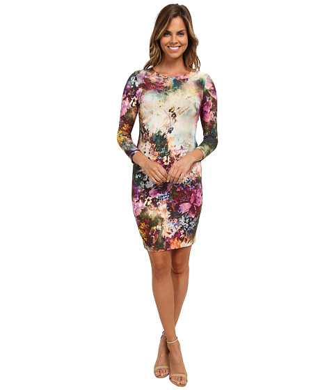 Karen Kane - Avant Garden Sheath Dress (Print) Women's Dress