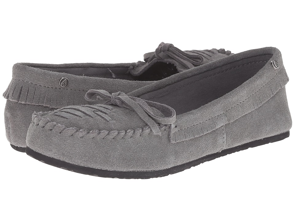 Volcom - Lovebirds (Grey) Women's Moccasin Shoes