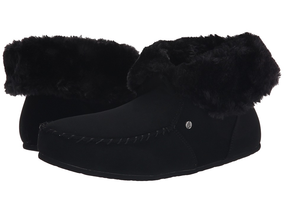 Volcom - Good Spirits (Vintage Black) Women's Slippers