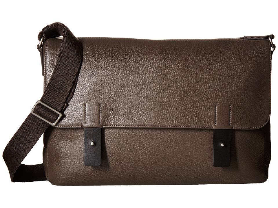 ECCO - Ely Messenger (Slate) Messenger Bags