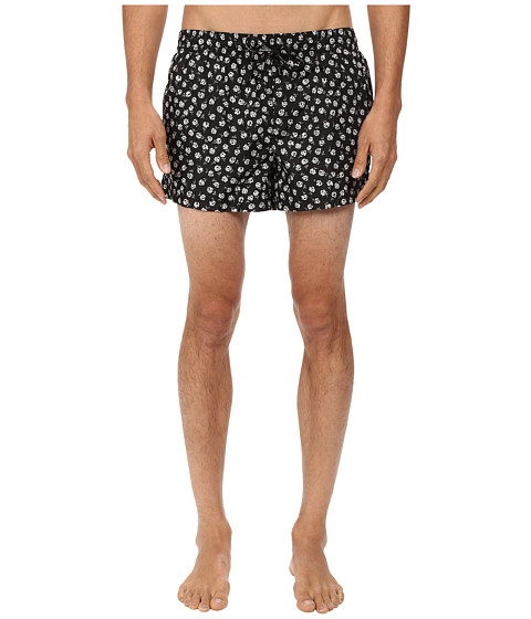 Dolce & Gabbana - Floral Trunks (Floral Print) Men's Swimwear