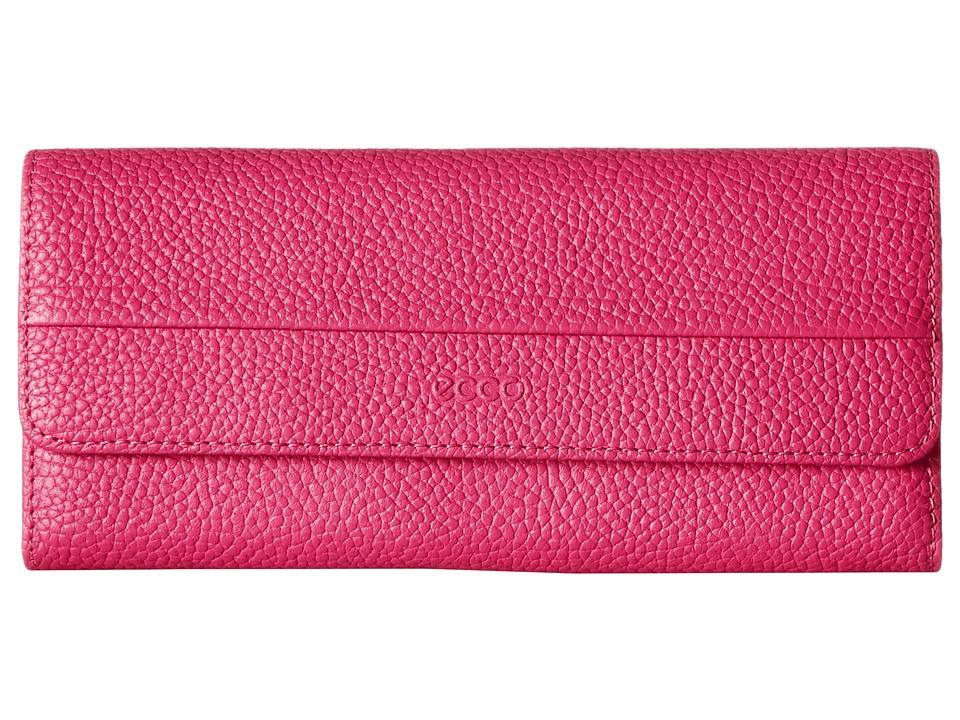 ECCO - SP Continental Wallet (Magenta) Wallet Handbags