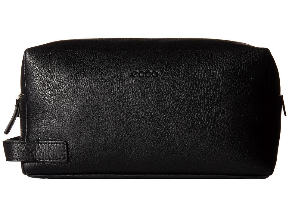 ECCO - Denio SD Toiletry Bag (Black) Cosmetic Case