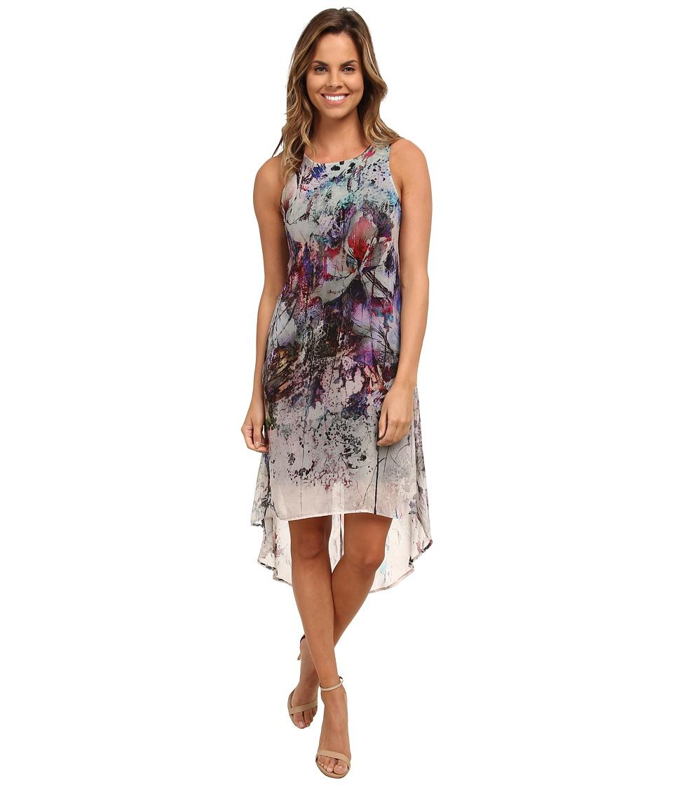 Karen Kane - Floral Hi-Lo Maxi Dress (Print) Women