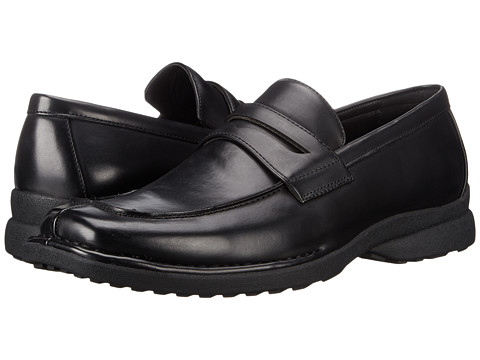 Kenneth Cole Unlisted - Bon-Fire (Black) Men's Slip on Shoes