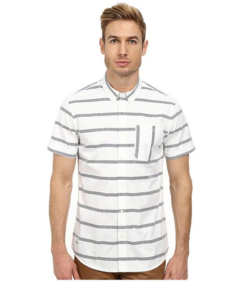 WeSC - Avon Short Sleeve Woven (White) Men