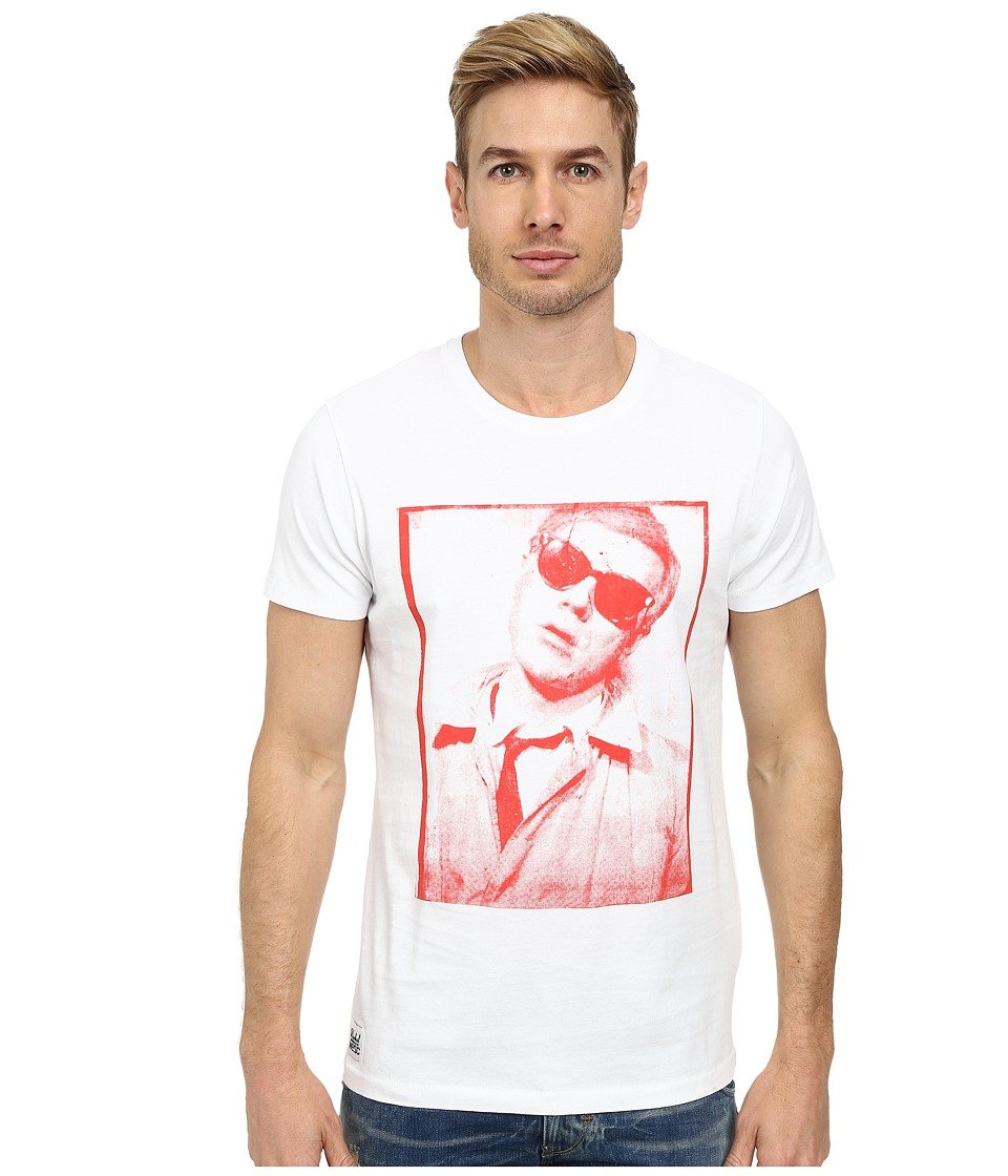 WeSC - Warhol x WeSC Portrait Tee (Red) Men's T Shirt