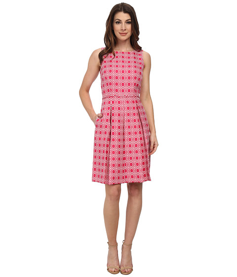 Tahari by ASL - Francine - W Dress (Rose/White) Women's Dress