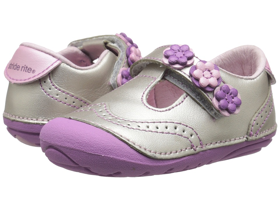 Stride Rite - SM Shiela (Infant/Toddler) (Pink) Girls Shoes