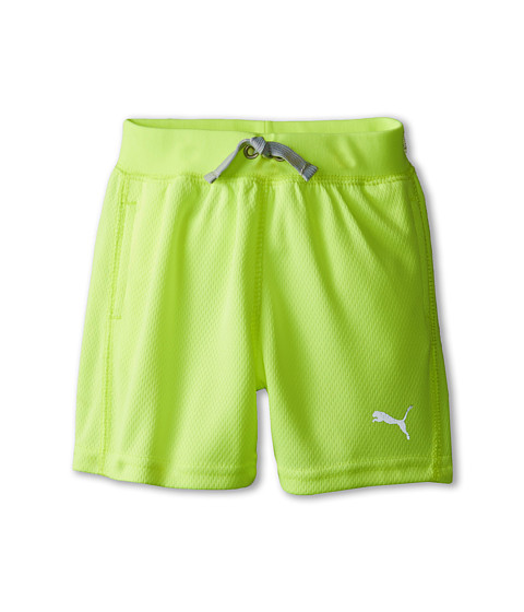 Puma Kids - Core Shorts (Infant) (Acid Yellow) Boy