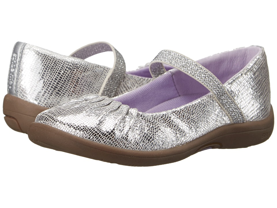 Stride Rite - SRT PS Cassie (Toddler/Little Kid) (Silver) Girls Shoes