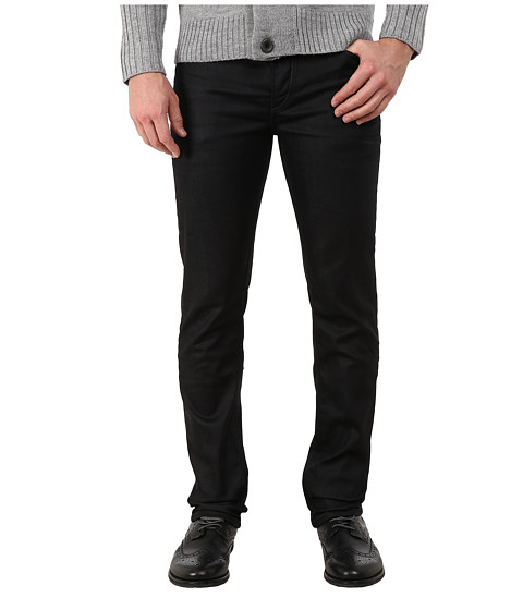 French Connection - Dark Duty Denim in Dark Wash/3D Creasing (Dark Wash/3D Creasing) Men