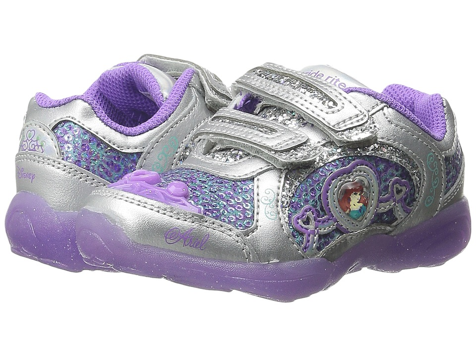 Stride Rite - Disney Ariel Athletic A/C (Toddler/Little Kid) (Purple) Girls Shoes