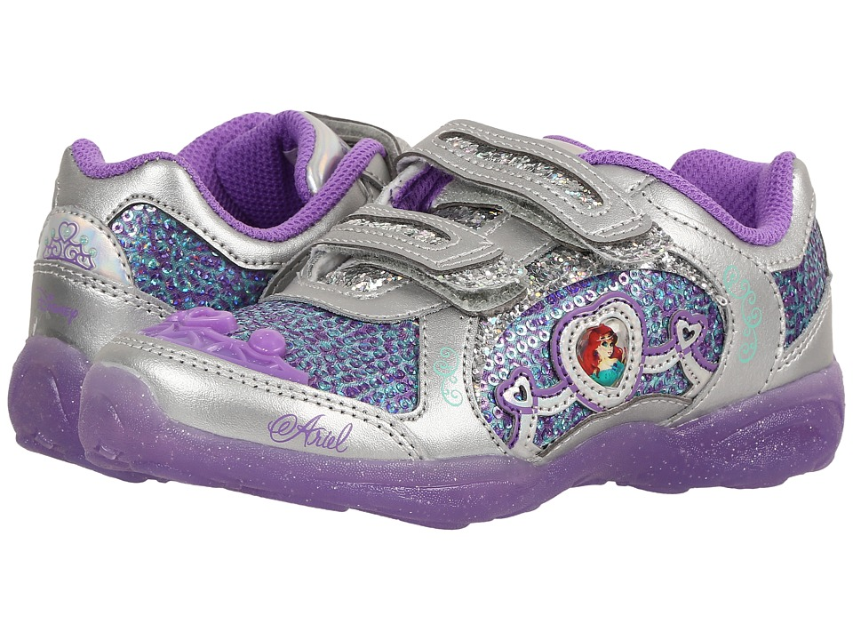 Stride Rite - Disney(r) Ariel Athletic A/C (Little Kid) (Purple) Girls Shoes
