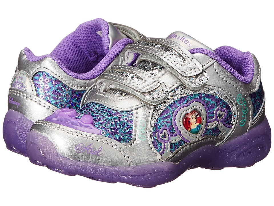 Stride Rite - Disney Ariel Athletic A/C (Toddler) (Purple) Girls Shoes