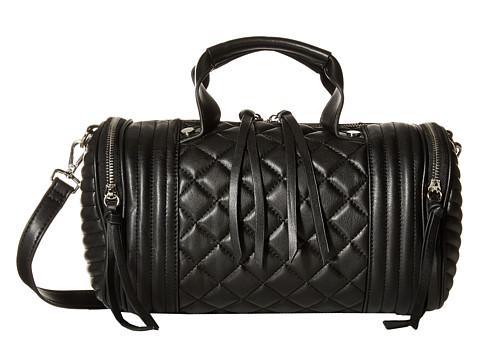 Steve Madden - Bpeyton Quilted Barrel (Black) Handbags