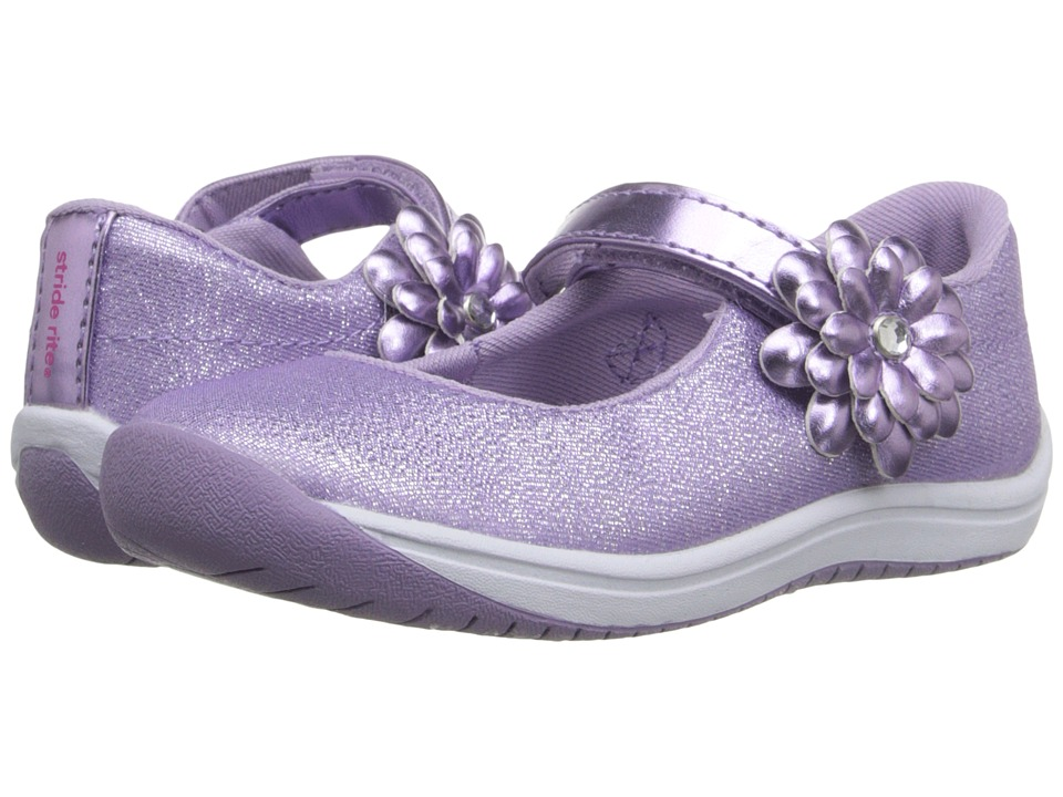 Stride Rite - Haylie (Toddler) (Purple) Girl's Shoes