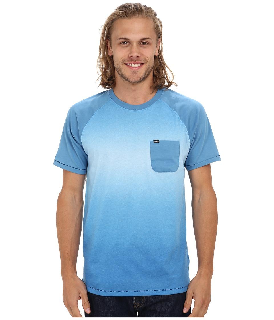 Hurley - Collective Fade Crew T-Shirt (Horizon) Men