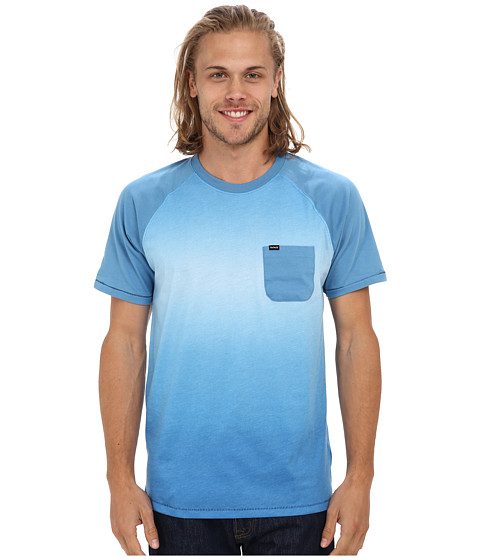Hurley - Collective Fade Crew T-Shirt (Horizon) Men
