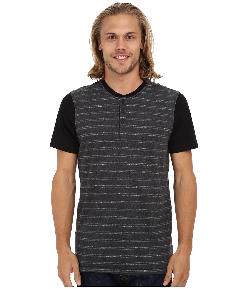 Hurley - Flight 2 T-Shirt (Black) Men's T Shirt