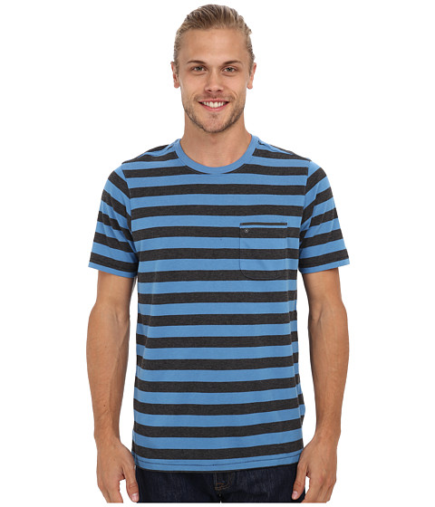 Hurley - Captain Knit Crew T-Shirt (Horizon) Men's T Shirt