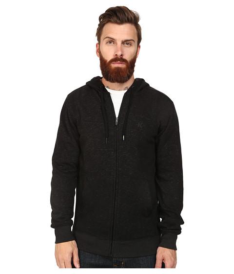 Hurley - Retreat Fleece Zip-Up (Black) Men