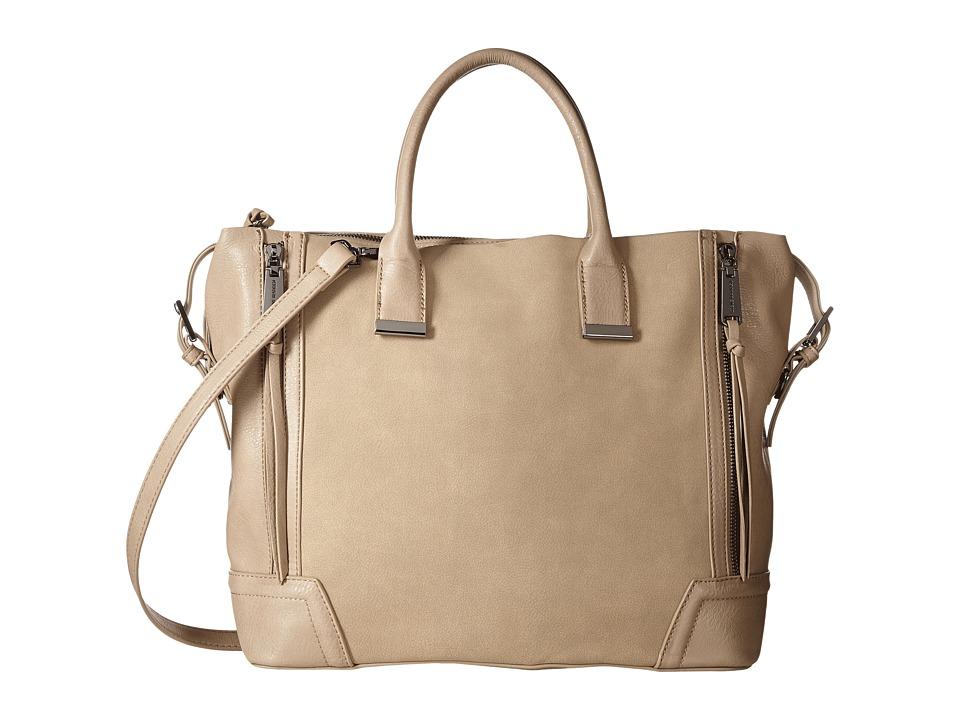 Steve Madden - Bfarlee Large Tote (Taupe) Tote Handbags