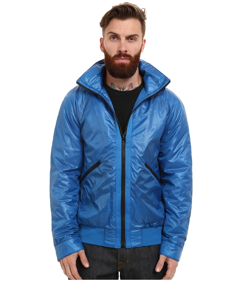 French Connection - W.H.Lane Wadded (Snorkel Blue) Men's Coat