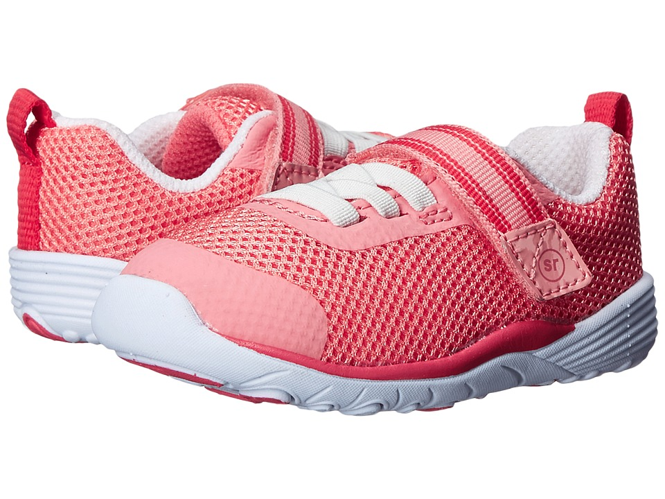 Stride Rite - SRT Dree (Toddler) (Coral) Girls Shoes