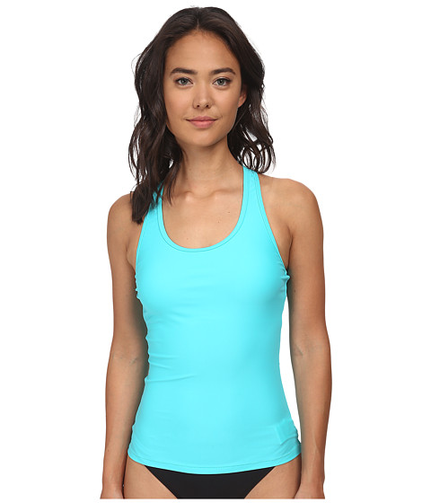 Volcom - Simply Solid Tankini Top (Blue Drift Wash) Women's Swimwear