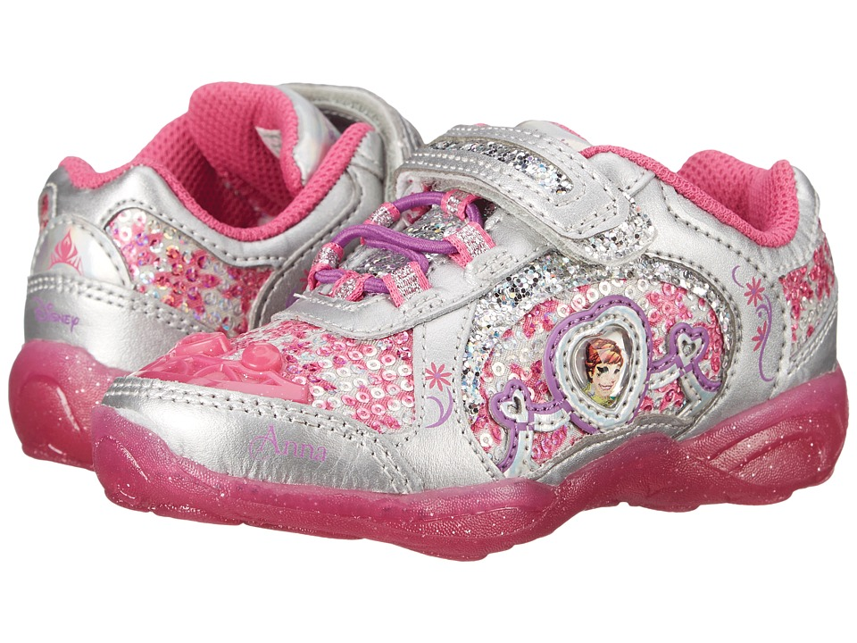 Stride Rite - Disney Frozen Athletic A/C (Toddler/Little Kid) (Dark Pink) Girls Shoes