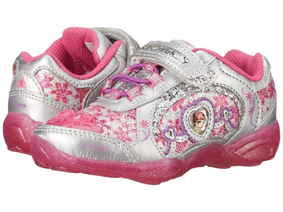 Stride Rite - Disney(r) Frozen Athletic A/C (Toddler/Little Kid) (Dark Pink) Girls Shoes