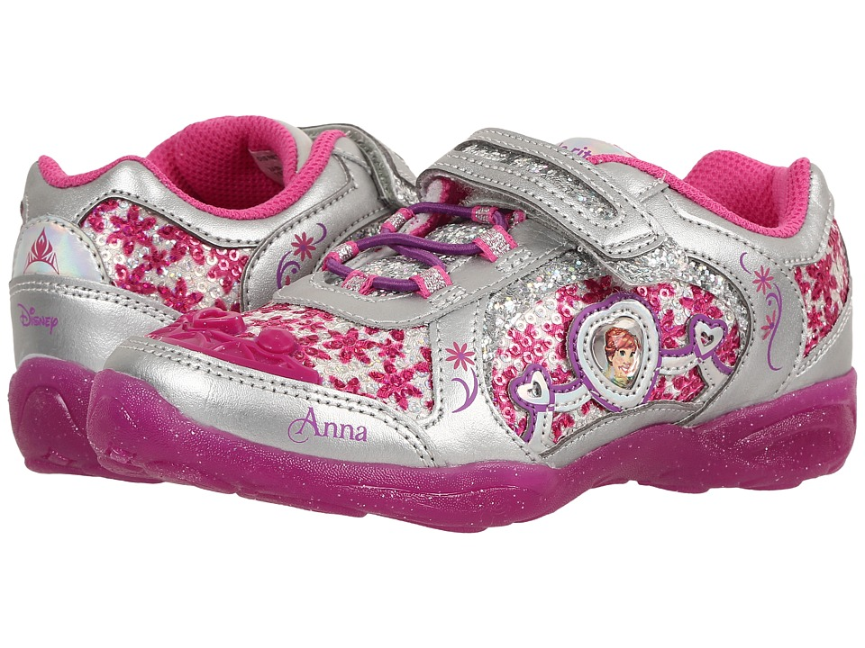 Stride Rite - Disney Frozen Athletic A/C (Little Kid) (Dark Pink) Girls Shoes