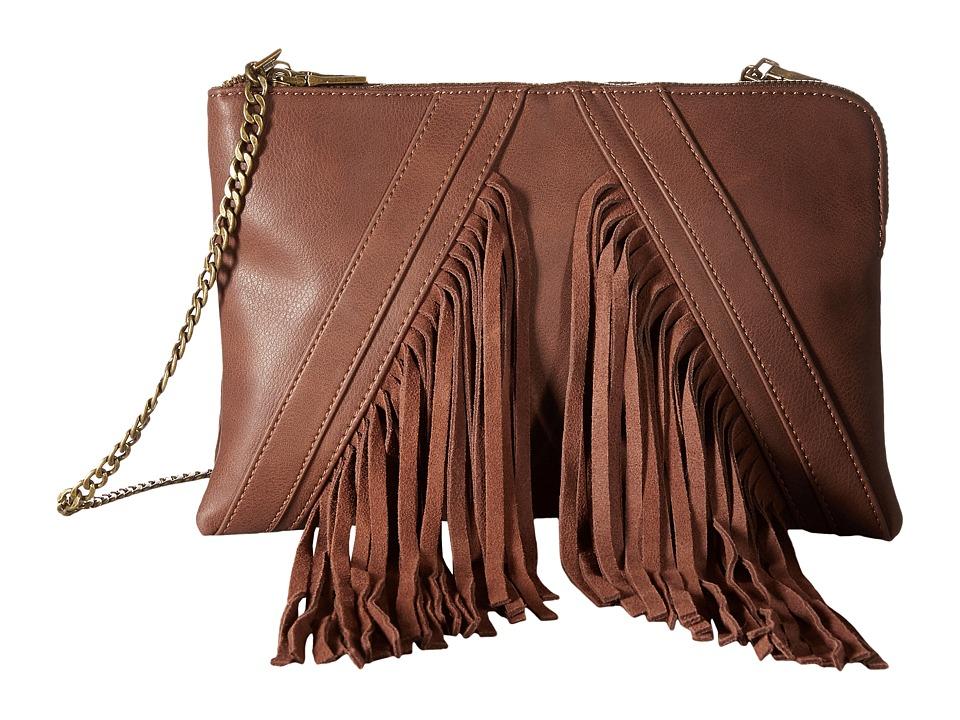 Steve Madden - Blenora Clutch (Cognac) Clutch Handbags