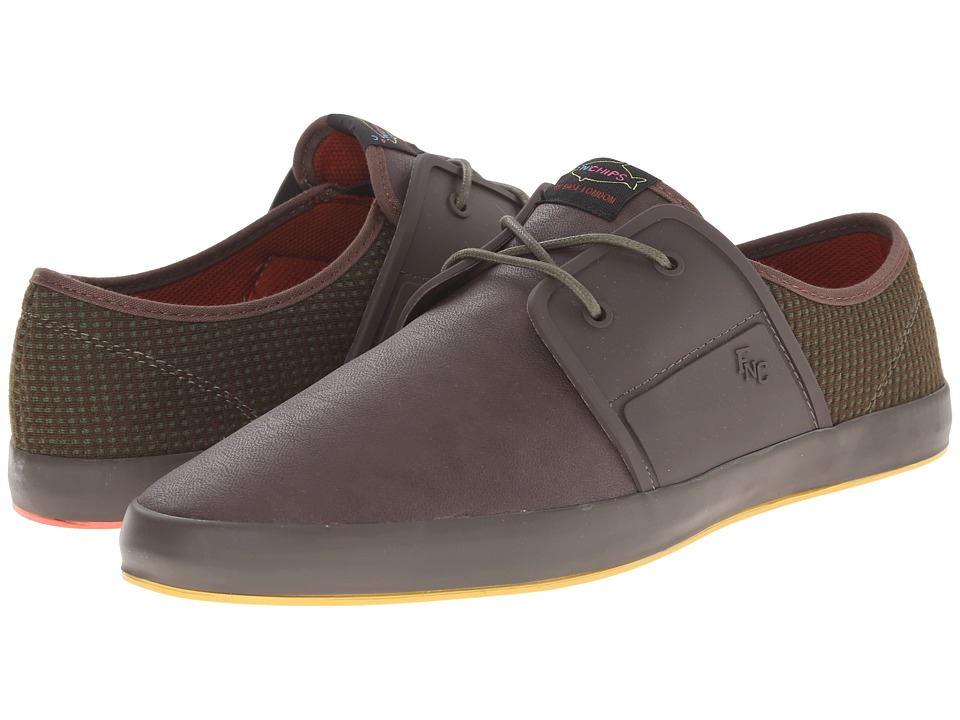 Base London - Spam 2 (Olive/Brown) Men's Shoes