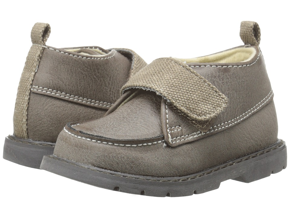 Baby Deer - 3/4 High Moc Boot (Infant/Toddler) (Taupe) Boys Shoes