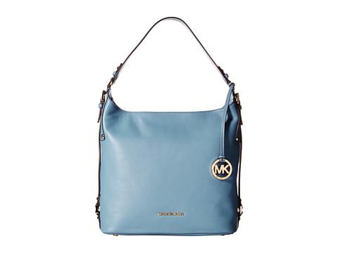 MICHAEL Michael Kors - Bedford Belted Large Shoulder (Cornflower) Shoulder Handbags