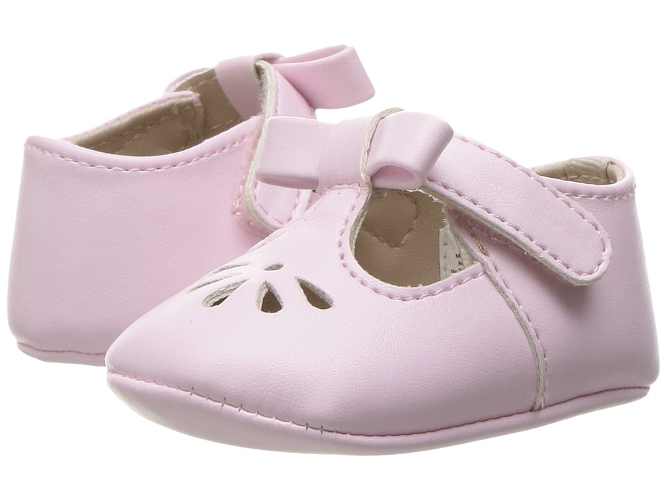 Baby Deer - T-Strap (Infant) (Pink) Girl's Shoes