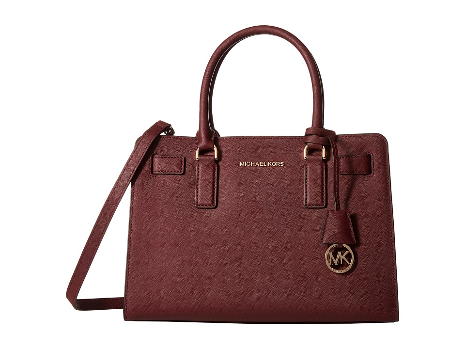 MICHAEL Michael Kors - Dillon East/West Satchel (Merlot) Satchel Handbags