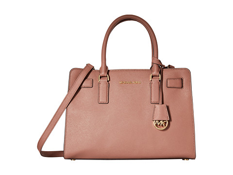MICHAEL Michael Kors - Dillon East/West Satchel (Dusty Rose) Satchel Handbags